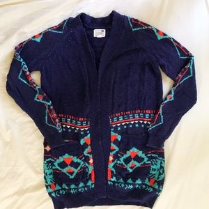 Long Patterned Sweater